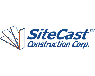 Logo for SiteCast Construction Corp.