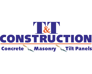 Logo for T&T Construction