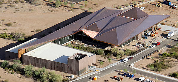 Main banner image for Central Arizona College - Academic Services Building