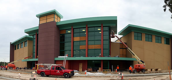 Main banner image for USF Basketball Facility (Pam & Les Muma Center)