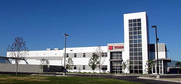 Main banner image for YESCO Manufacturing and Corporate Office Building
